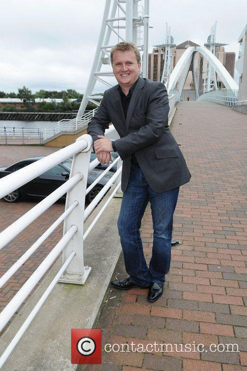 Aled Jones 'Snow White' Photocall held at the...