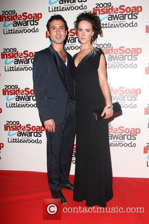 Ben Turner and Amy Manson The Inside Soap...