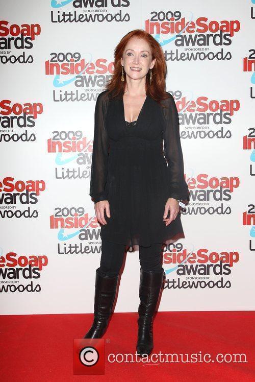 Kim Thomson The Inside Soap Awards 2009 held...
