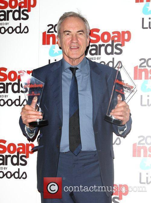 Larry Lamb, winner of Best Bad Boy award...