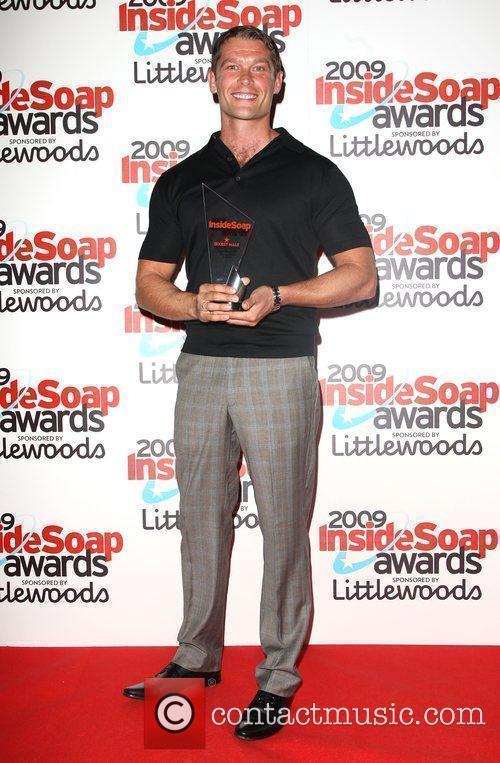 John Partridge winner of Sexiest Male The Inside...