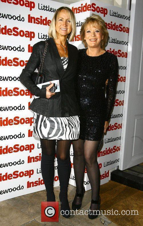 Carol McGiffin and Sherrie Hewson The Inside Soap...