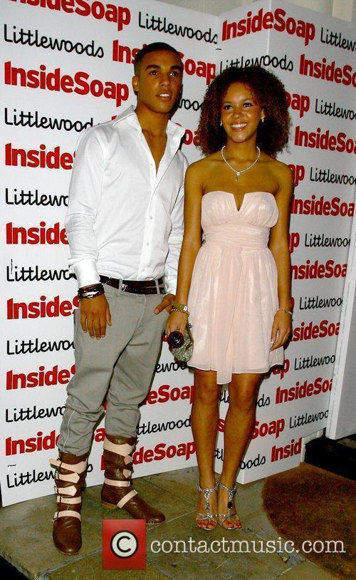 Lucien Laviscount and Dominique Jackson The Inside Soap...