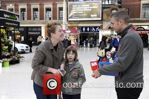 British soldiers Sergeant Major Gary Chilton, Sergeant Richie...