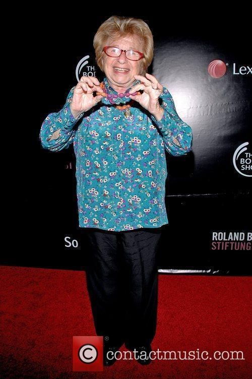 Dr. Ruth Westheimer The Somaly Mam Foundation NYC...