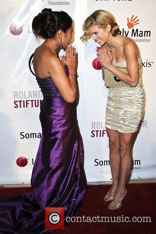 Annalynne Mccord and Somaly Mam 7