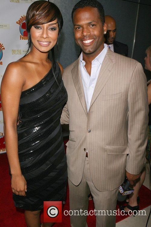 Keri Hilson, AJ Calloway Cocktails with a Cause...