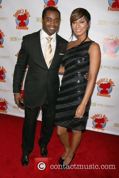 Curtis Martin, Keri Hilson Cocktails with a Cause...