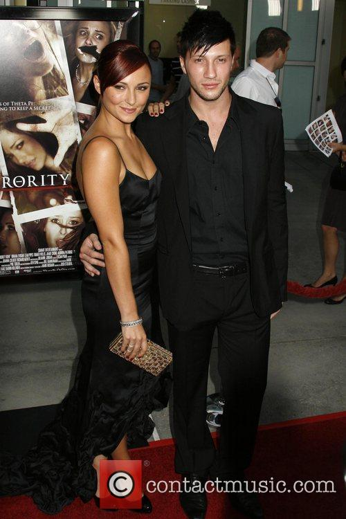 Briana Evigan and Guest Los Angeles Premiere of...