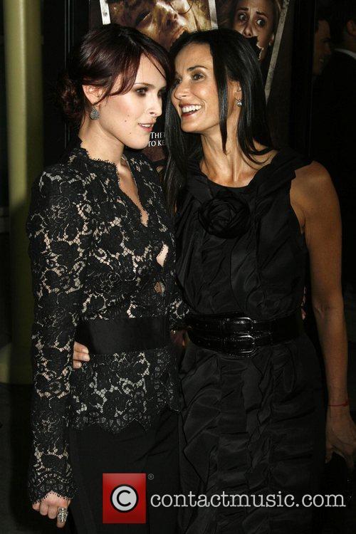 Rumer Willis and Demi Moore 4