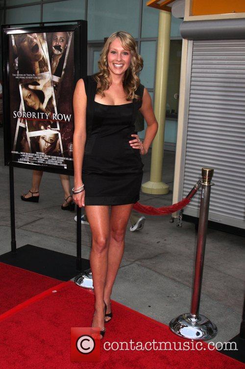 Deja Kreutzberg Los Angeles Premiere of 'Sorority Row'...