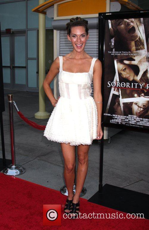 Jasmine Dustin Los Angeles Premiere of 'Sorority Row'...