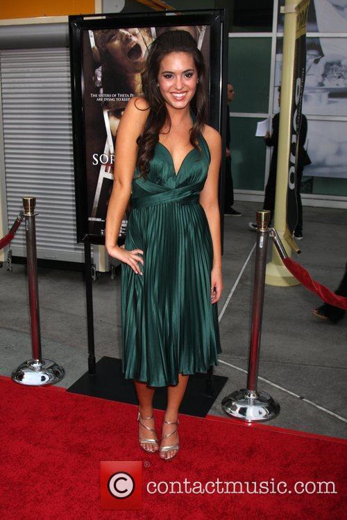 Teri Andrez Los Angeles Premiere of 'Sorority Row'...