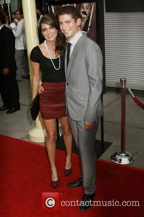 Justine Wachsberger and Julian Morris Los Angeles Premiere...