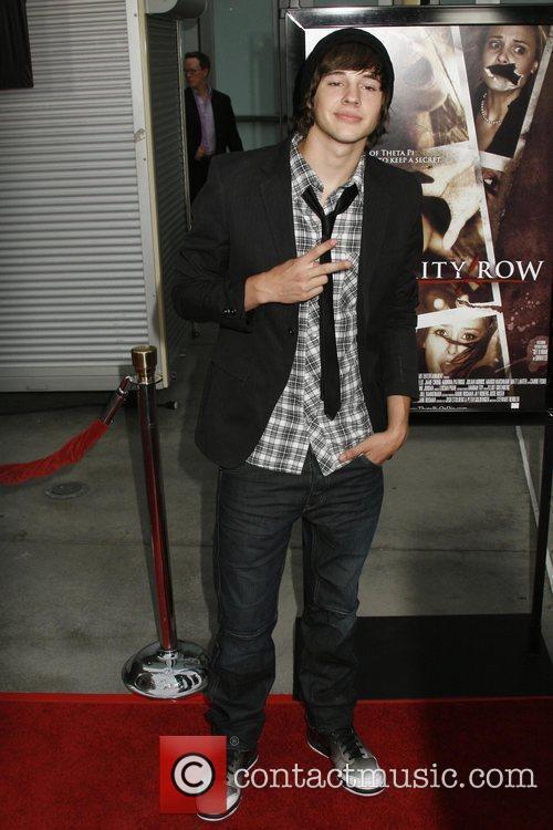 Matt Prokop Los Angeles Premiere of 'Sorority Row'...