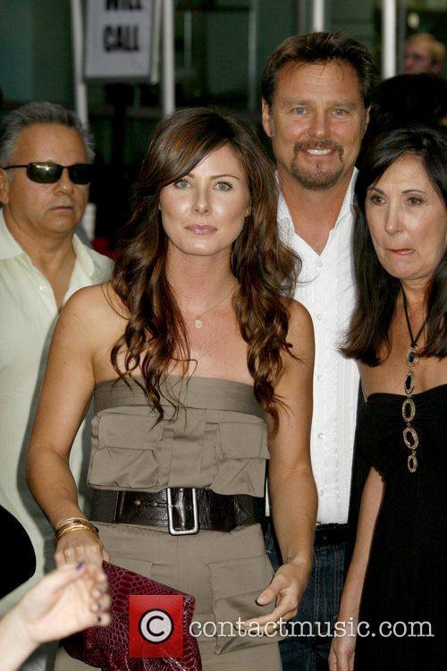Vanessa Lee Evigan and Greg Evigan Los Angeles...