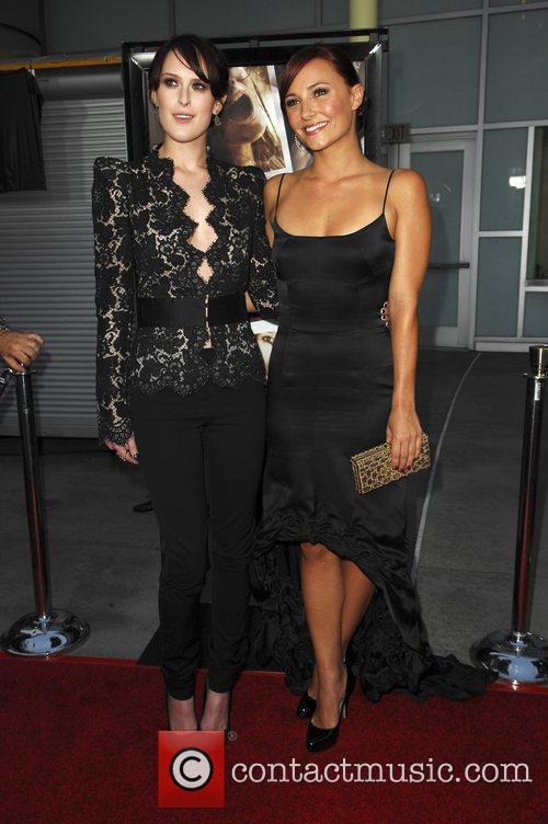 Rumer Willis and Nicole Moore Los Angeles Premiere...