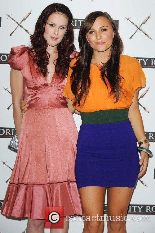 Rumer Willis and Briana Evigan At A Photocall For 'sorority Row' At Vue Leicester Square 2