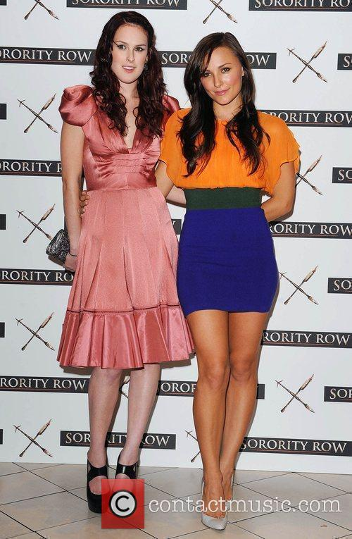 Rumer Willis and Briana Evigan At A Photocall For 'sorority Row' At Vue Leicester Square 1