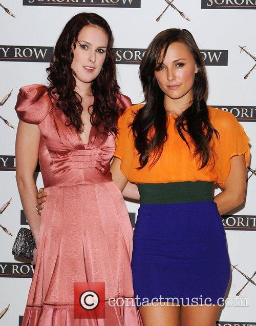 Rumer Willis and Briana Evigan At A Photocall For 'sorority Row' At Vue Leicester Square 4
