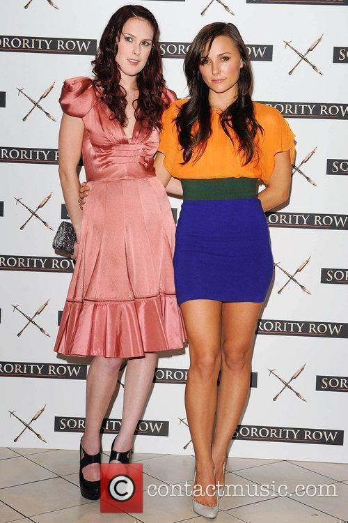 Rumer Willis and Briana Evigan At A Photocall For 'sorority Row' At Vue Leicester Square 10