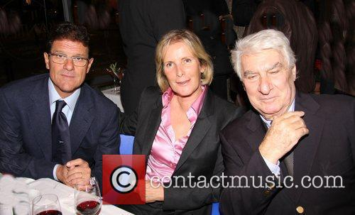 Fabio Capello, Gino Santini and Guest Sparks Charity...