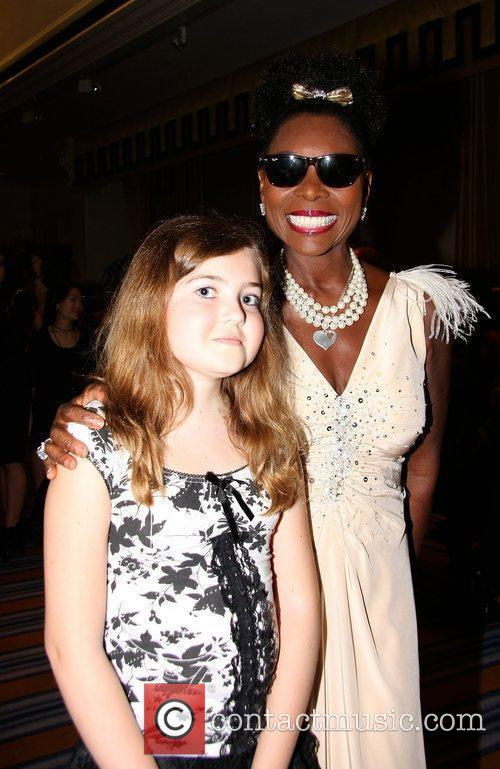 Floella Benjamin and Zoe Scanla Sparks Charity Fashion...