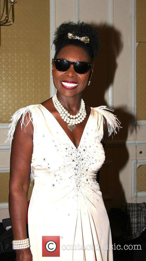 Floella Benjamin Sparks Charity Fashion Show held at...