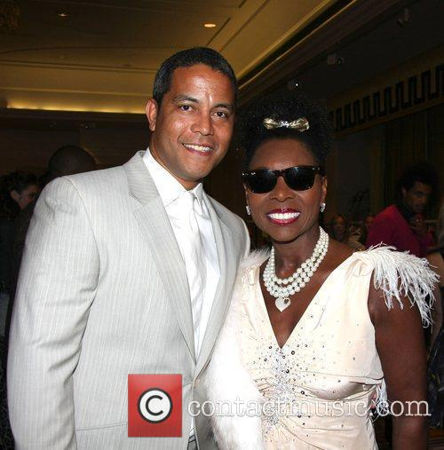 Jeremy Guscott and Floella Benjamin Sparks Charity Fashion...