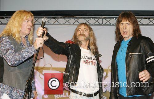 Spinal Tap from left, David St. Hubbins (Michael...
