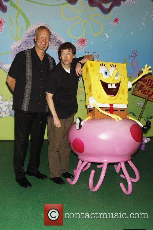 Bill Fagerbakke and Spongebob Squarepants 1
