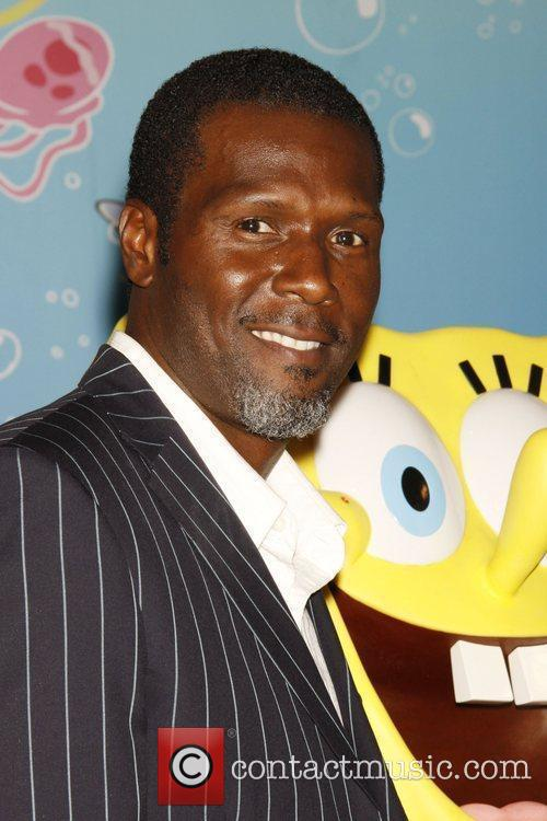 Curtis Cook attends the unveiling of a SpongeBob...