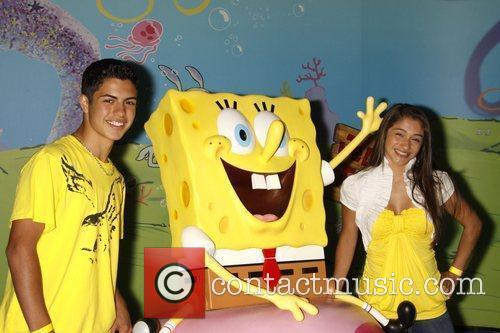 Attend the unveiling of a SpongeBob SquarePants wax...