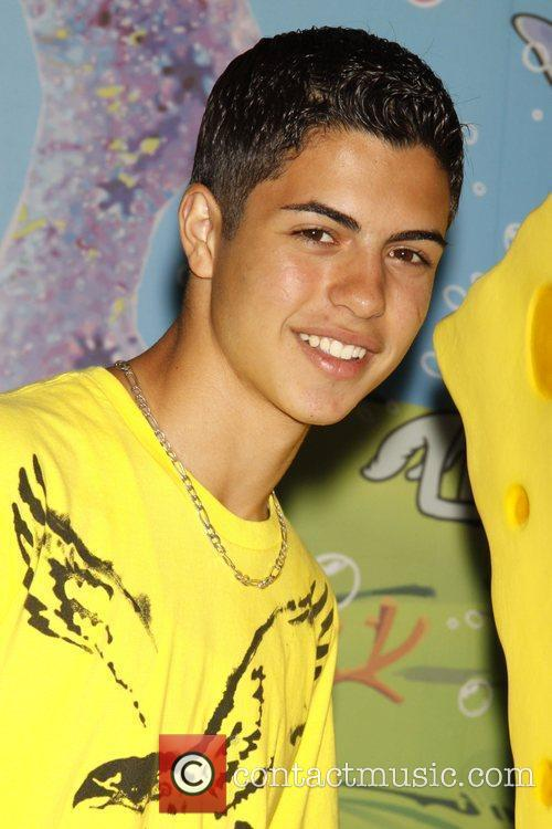 David Castro and Spongebob Squarepants