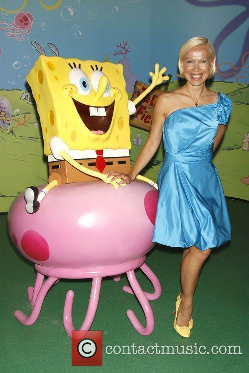 Oksana Baiul 2009 Oksana Baiul Spongebob
