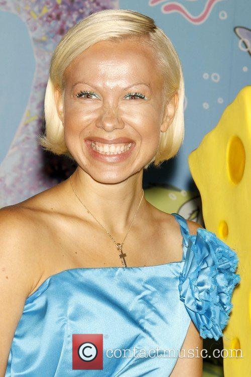 Oksana Baiul 2009 Oksana Baiul And Spongebob