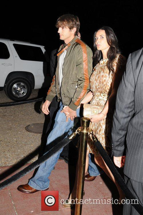 Ashton Kutcher and Demi Moore Afterparty for the...