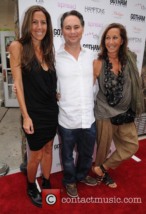 Donna Karan, Jason Binn and Gabby Karan Gotham...