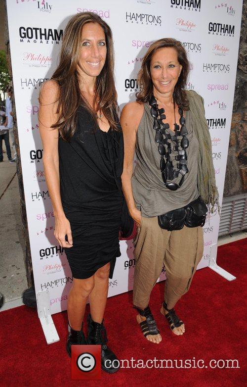 Donna Karan and Gabby Karan Gotham and Hamptons...