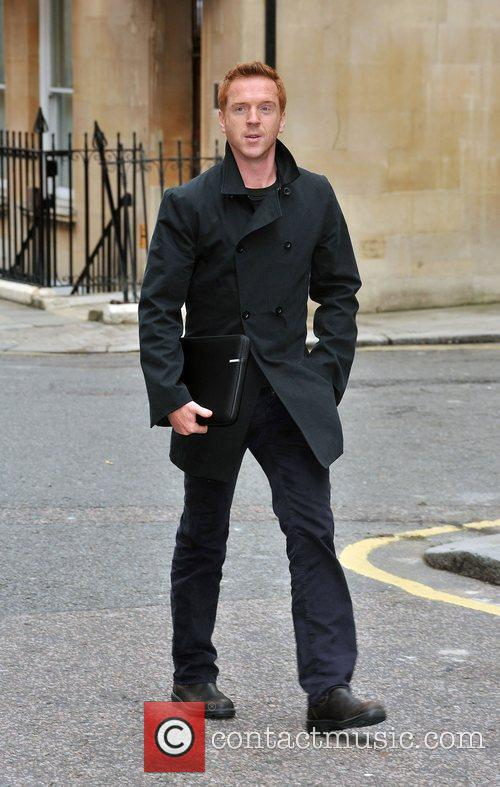 Damien Lewis  arriving at the St James'...