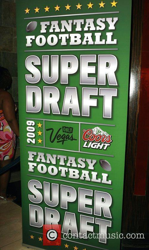 Fantasy Football's Super Draft 2009 VIP Party hosted...