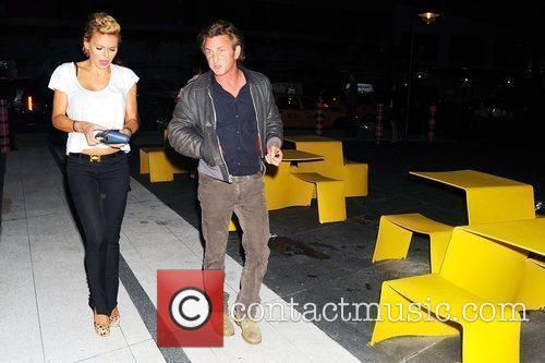 Sean Penn and A Friend Arrive At The Standard Hotel In Manhattan's Meatpacking District 1