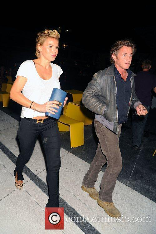 Sean Penn and A Friend Arrive At The Standard Hotel In Manhattan's Meatpacking District 2