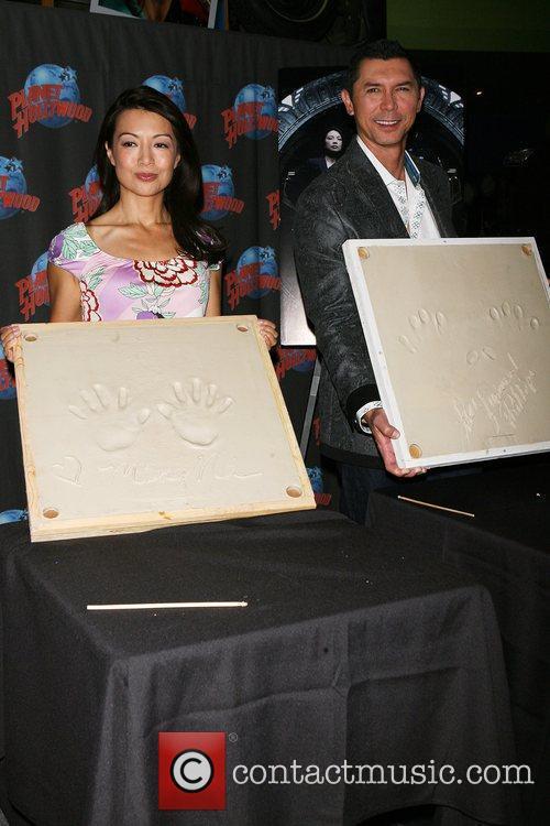 Ming-na and Lou Diamond Phillips 2