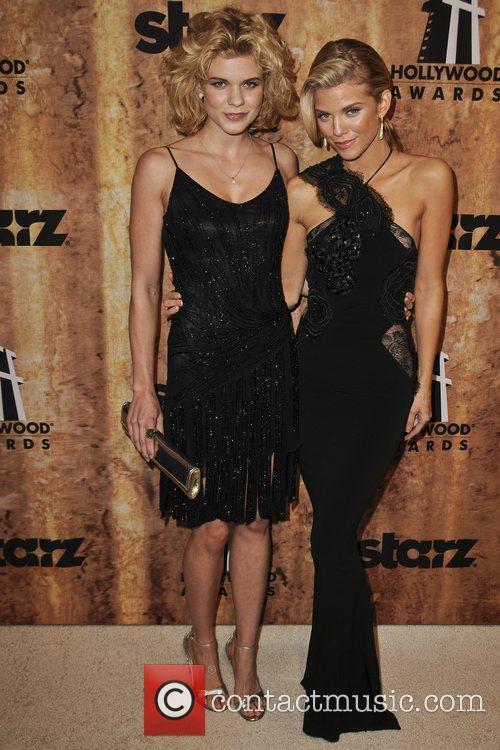 Angel McCord, AnnaLynne McCord Starz Entertainment hosts after...