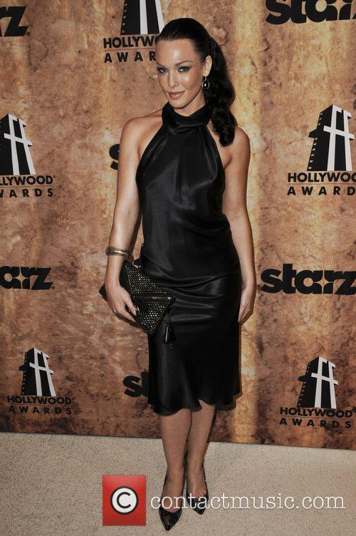 Erin Cummings Starz Entertainment hosts after party at...