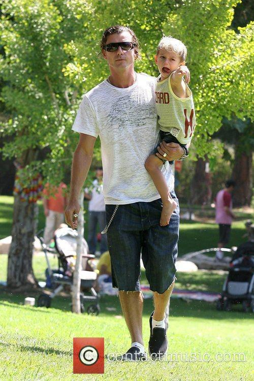 Gavin Rossdale and His Son Kingston Rossdale 5