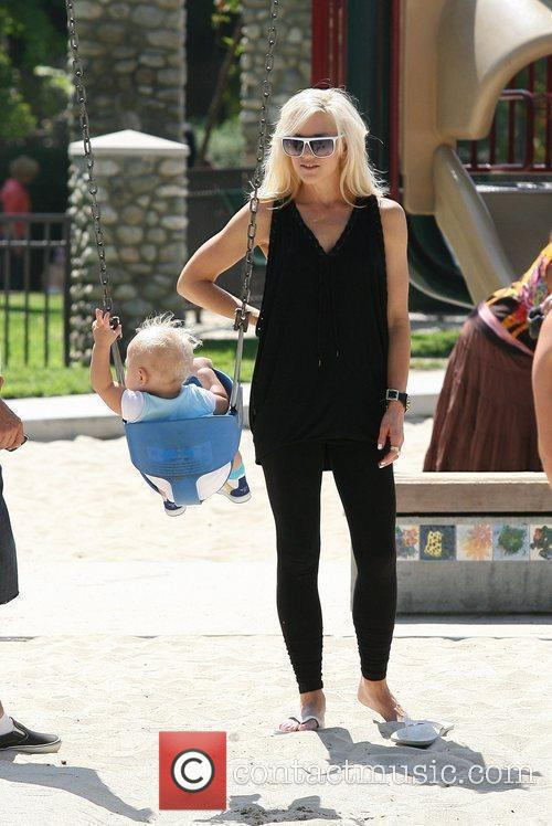 Gwen Stefani and Her Son Zuma Rossdale 10