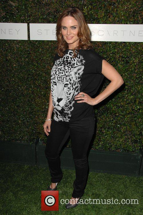 Emily Deschanel and Stella Mccartney 3