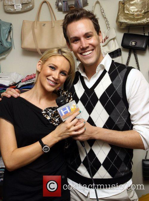 Host Mathew Hoffman and The Hills star Stephanie...